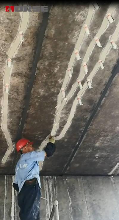 Rpair Concrete Crack Of The Bridge With Structural
