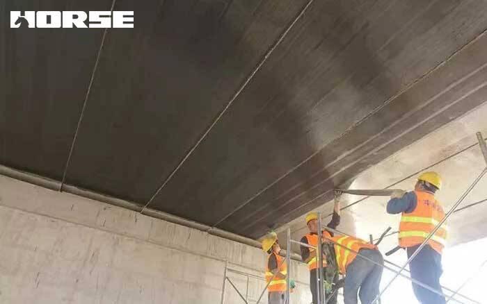 Carbon fiber reinforcemed polymer(FRP) for bridge reinforcement