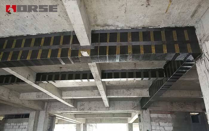 beam reinforcement by carbon fiber cfrp