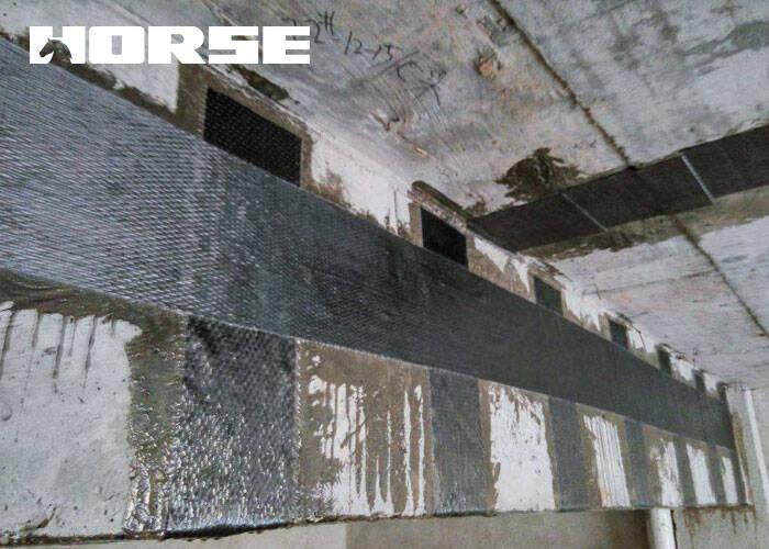 CFRP加固混凝土梁