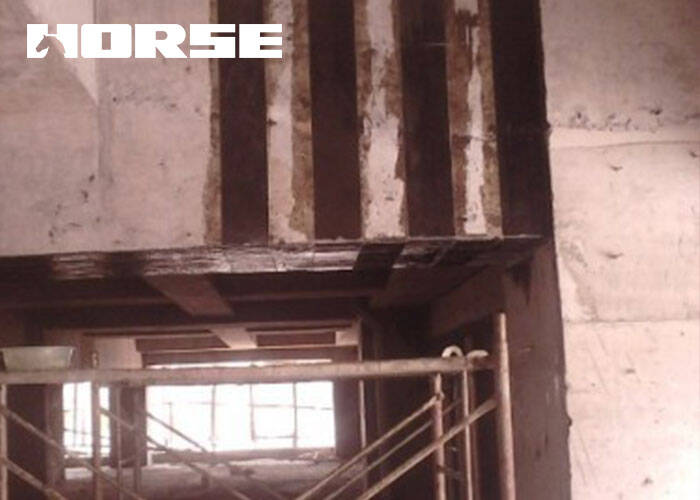 Reinforced Concrete Beams With Unidirectional Carbon Fiber Sheets-Horse Construction