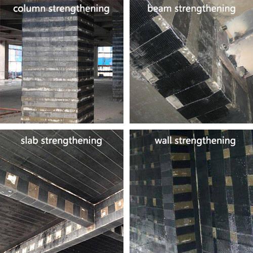 Cfrp Fabric Cfrp Sheet Carbon Fiber Reinforced Polymer