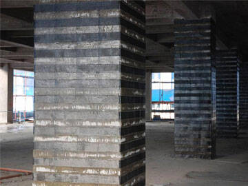 Long service life, FRP fabric reinforcement of column and beam