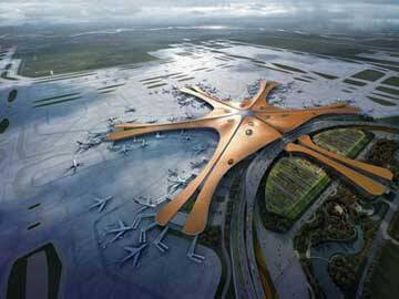 Reinforcement of Beijing new airport