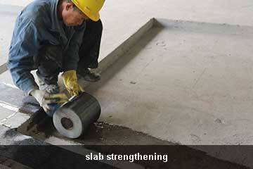 cfrp sheet strengthening repair