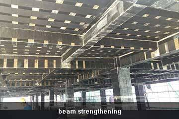 unidirectional carbon fiber sheet structural strengthening
