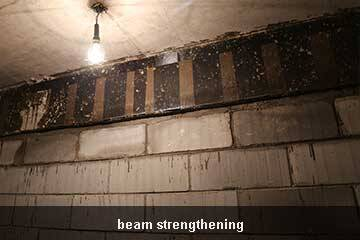 carbon fiber beam strengthening