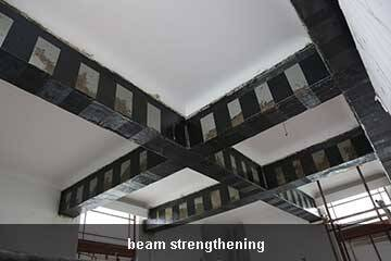 carbon sheet structural strengthening