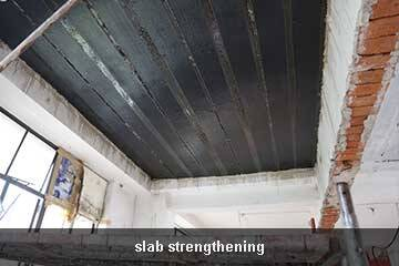 carbon fiber sheet for slab repair
