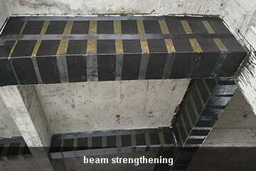 column strengthening cfrp sheet