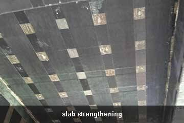 slab strengthening carbon fiber