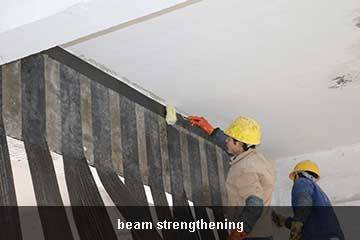 carbon fiber sheet beam repair