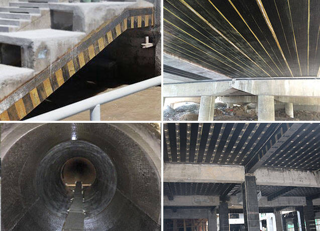 carbon fiber sheet bridge strengthening